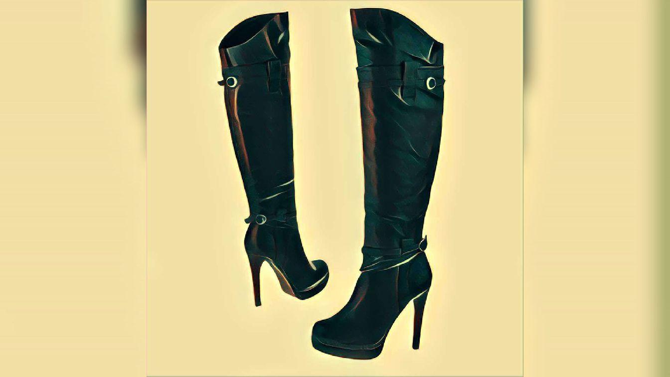 Extrem teure Stiefel? (Mode, overknees)